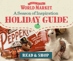 Cost Plus Holiday Shopping